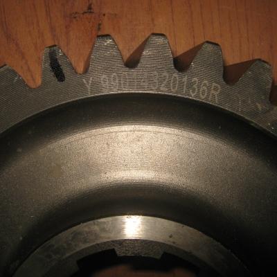 Шестерня ведущая среднего редуктора 199014320136