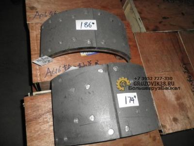 Колодка тормозная задняя в сборе F3000 (S) Чиньян DZ9112340060