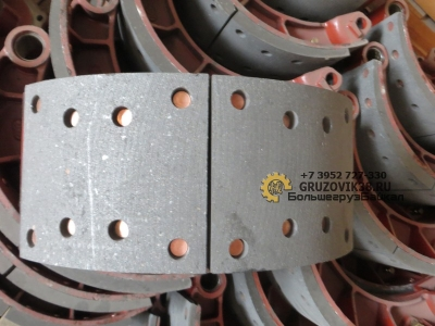 Колодка тормозная передняя в сборе (S) 81502010137