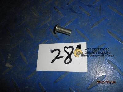 Заклепка для тормозных накладок аллюминевая (полнотелая) 189000340068