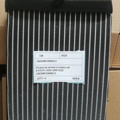 Радиатор печки (отопителя) FOTON-3251 1099 5122 1B22081100003-2