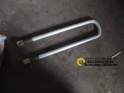 Стремянка рессоры задняя плоская М24 L=540 мм с гайкой AZ9725520253/190003888