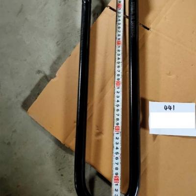 Стремянка рессоры задняя L=540 mm F3000 (S) с гайкой DZ9118520124
