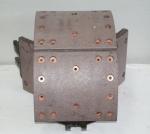 Колодка тормозная задняя в сборе А-7 AZ9231342010