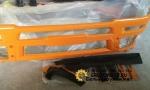 Бампер литой тягач стеклопласт (S) F3000 жёлтый DZ93189932130