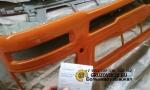 Бампер литой тягач стеклопласт (S) F3000 жёлтый DZ93189932130y