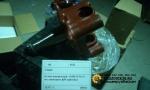 Кулак поворотный под шкворень ф54  (S) SHACMAN оригинал