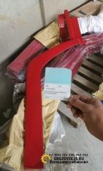 Крыло кабины верхнее со спальником красное правое WG1642230013