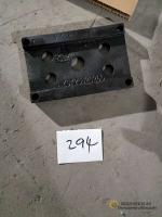 Пластина подушки под рессору верхняя AZ9725520266
