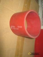 Патрубок интеркулера резиновый красный короткий AZ9719530107/1