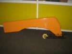 Крыло под кабину F2000 (S) жёлтое правое 81.61210.5364y