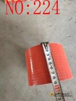 Патрубок резиновый на интеркулер красный короткий AZ9719530107/1