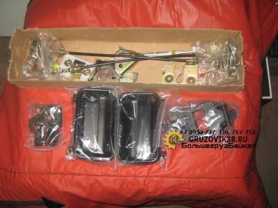 Замок комплект на две двери(ключи,ручки,тяги) WG1642341001
