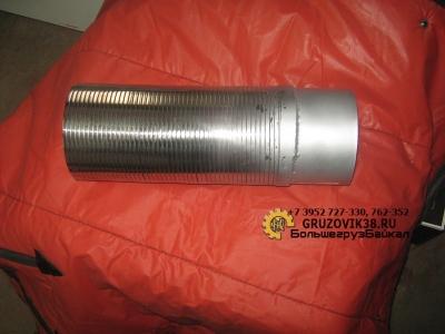 Гофра выхлопного коллектора 6х4 прямая WG9719540021