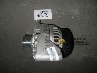 Генератор  28 V-60 A  D12  A7 VG1246090005