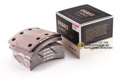 Накладка тормозная задняя 186х185х14 КРЕАТЭК СК-WG9200340068