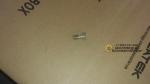 Болт штуцерный полый обратки D 6 оригинал OR-VG1500080090