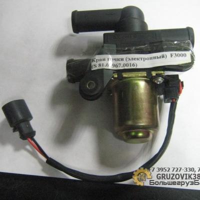 Кран печки (электронный)  F3000 (S) 81.61967.0016