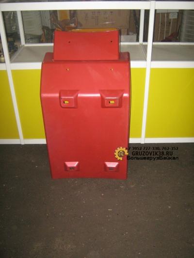 Крыло кабины заднее красное левое WG1642230003